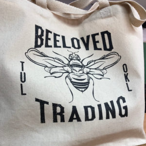 BeeLoved Trading Logo Tote
